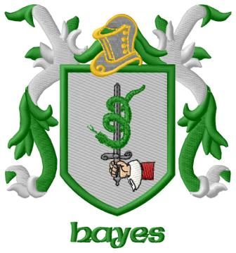 Embroidered Irish And Celtic Crests And Coats Of Arms